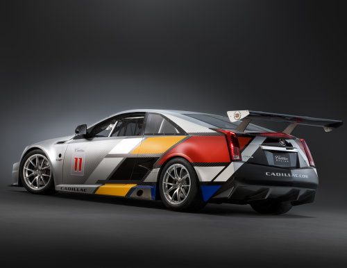 The 2011 Cadillac Cts V Coupe Race Car Driver S Side