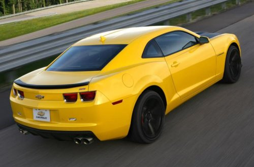 The Back End Of The 2013 Chevrolet Camaro 1le Torque News