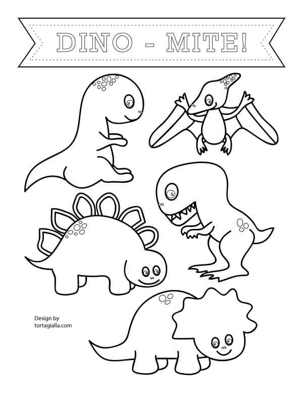 free printable dinosaur coloring pages # 35