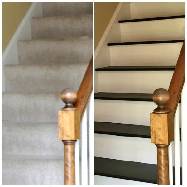 How To Remove Carpet From Stairs And Paint Them   Cutting Carpet For Stairs   Carpet Runner   Wood   Stair Nosing   Landing   Underlay