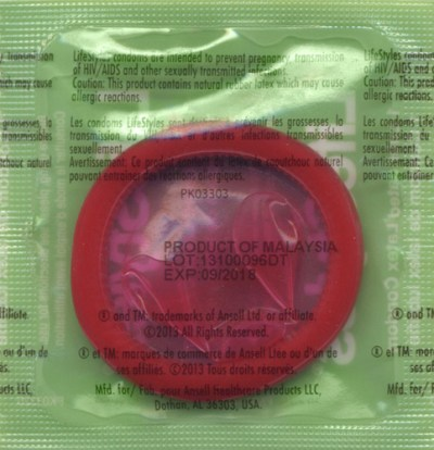 LifeStyles Assorted Colors lubricated condoms bulk ...