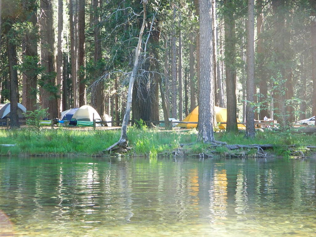 Family Tent Camping Southern California