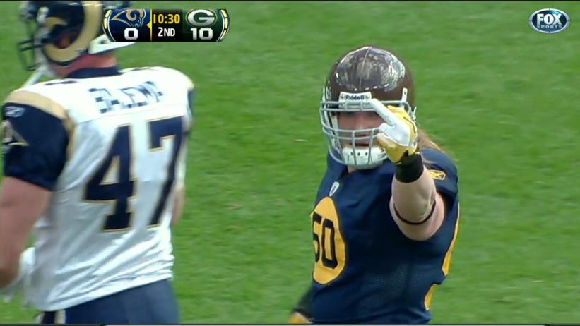 Cutler Giving Finger