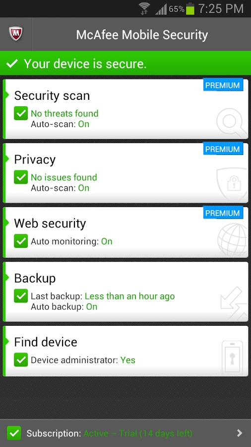 Free Virus Protection Android