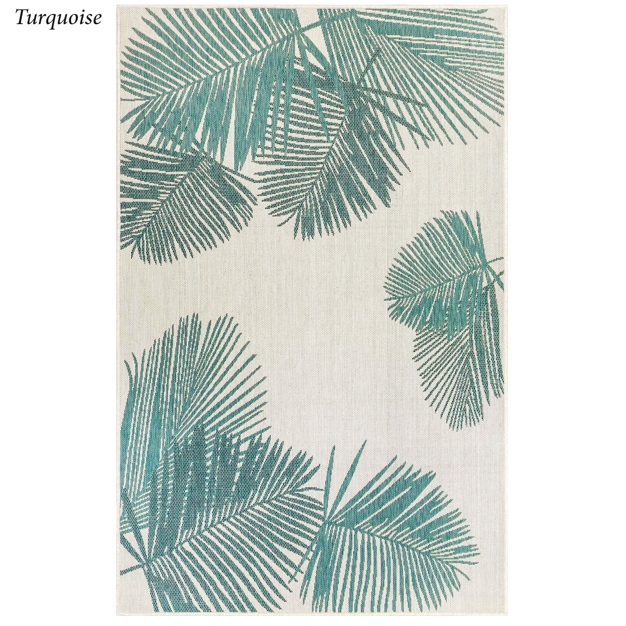 Terrace Palm Tropical Indoor Outdoor Rugs By Liora Manne