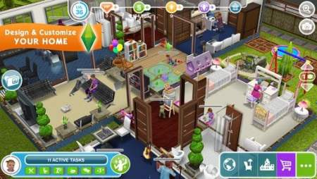 Best Mobile Games Like Design Home to Test Your Interior Designer         are many people who haven t heard     or even played     a game in The Sims  franchise  And fortunately  there s a free version available to mobile  users