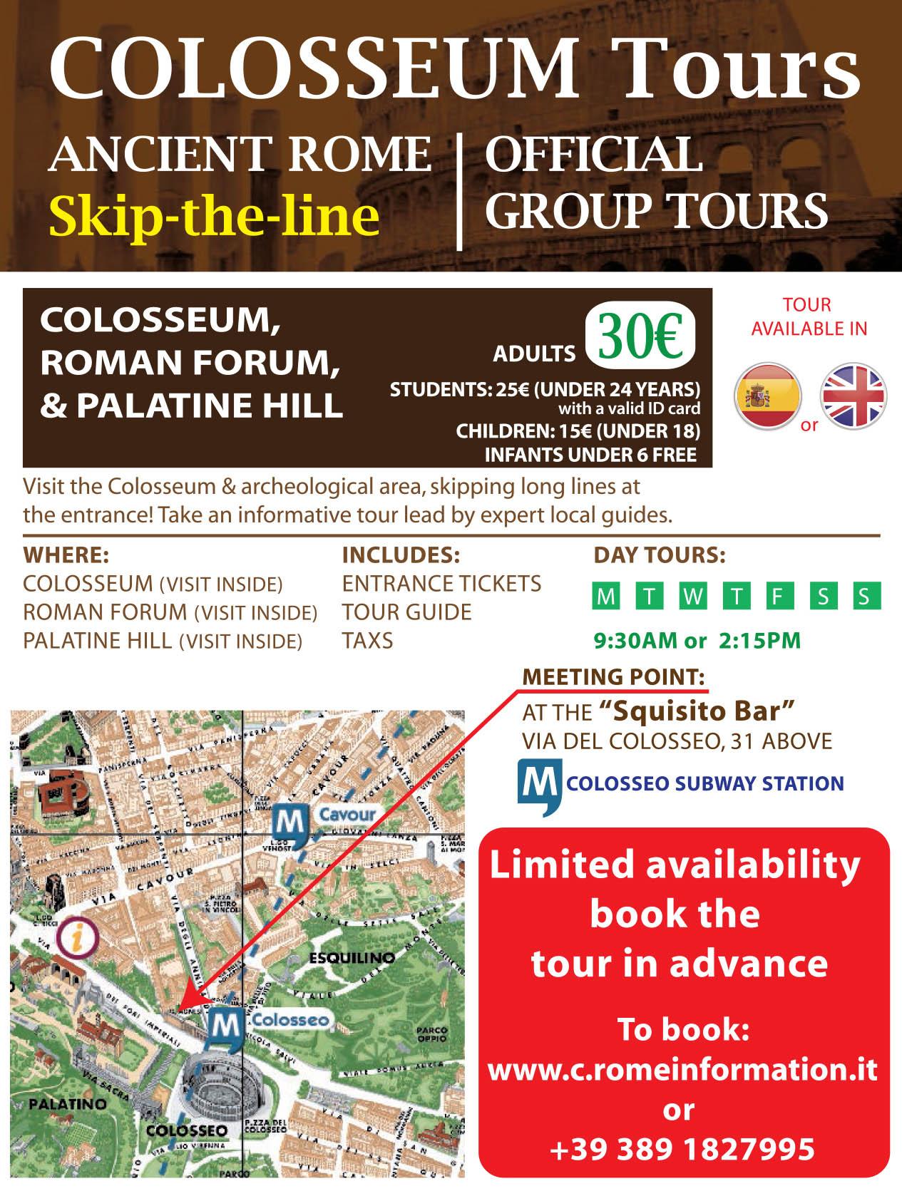 Colosseum Tour - Colosseum official guided Tour - Skip the ...