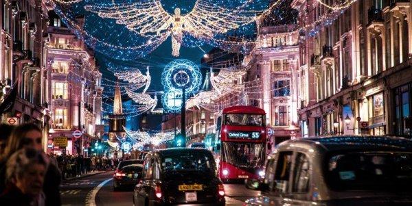 christmas lights london 2019 # 10