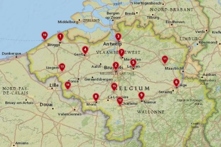 interior belgium map with cities » [HD Images] Wallpaper For ...