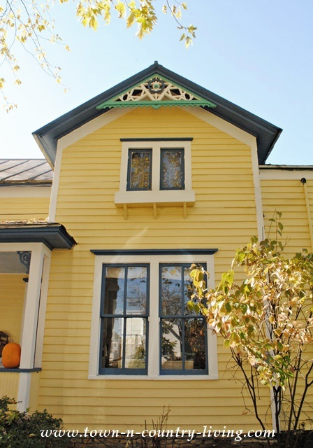 Yellow Exterior House Paint Colors