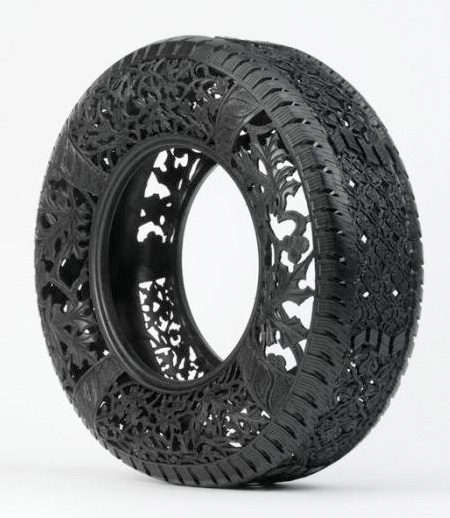 Tire Carvings