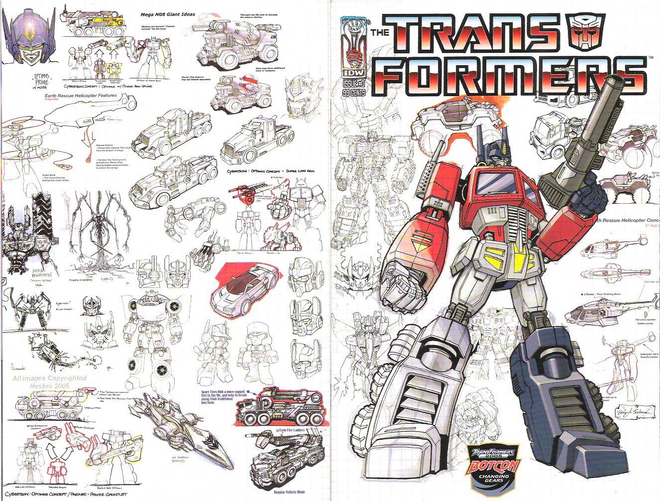 Transformers Botcon Dealer Room