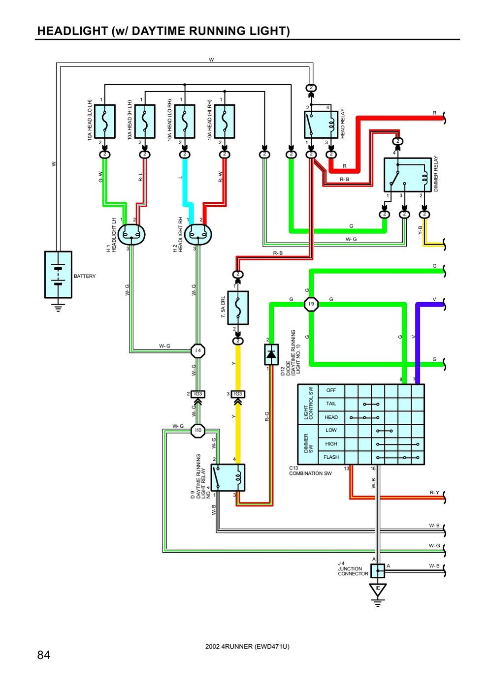 2002 4runner Engine Diagram Wiring Library Tacoma 96 Toyota