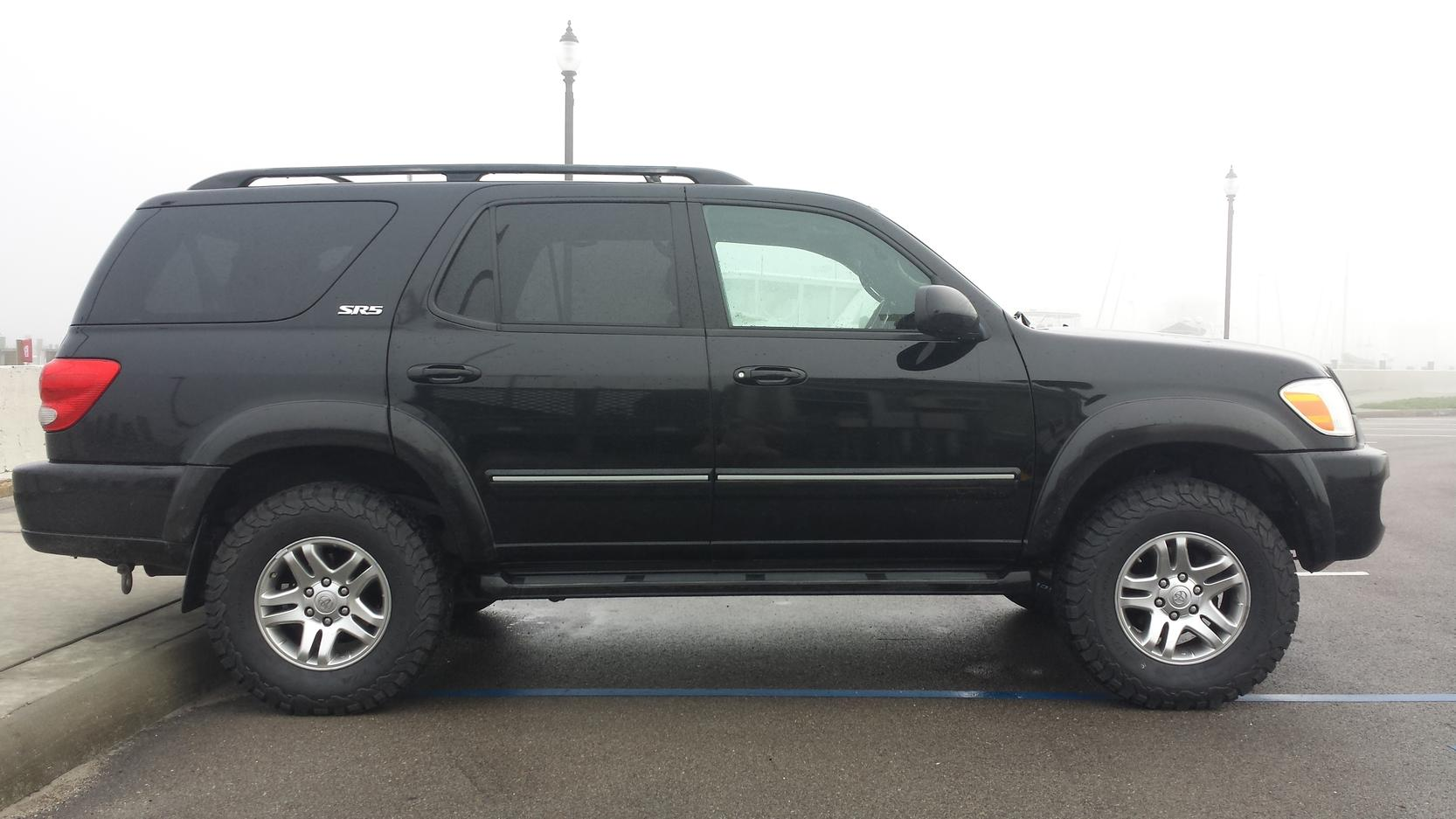 Toyota Sequoia Off Road 2001 Lifted