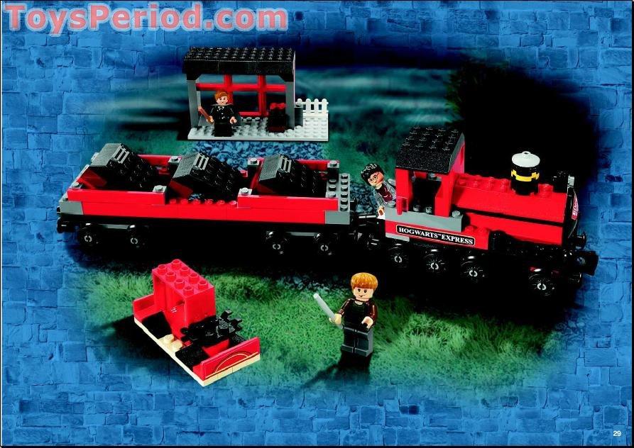 LEGO 4758 Hogwarts Express (2nd Edition) Set Parts ...