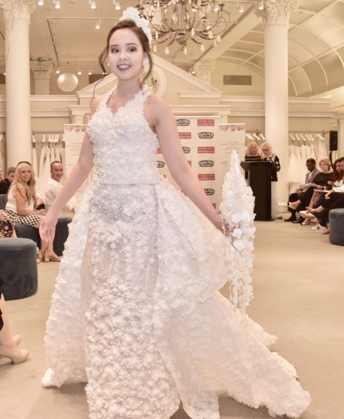 The 2018 Toilet Paper Wedding Dress Contest