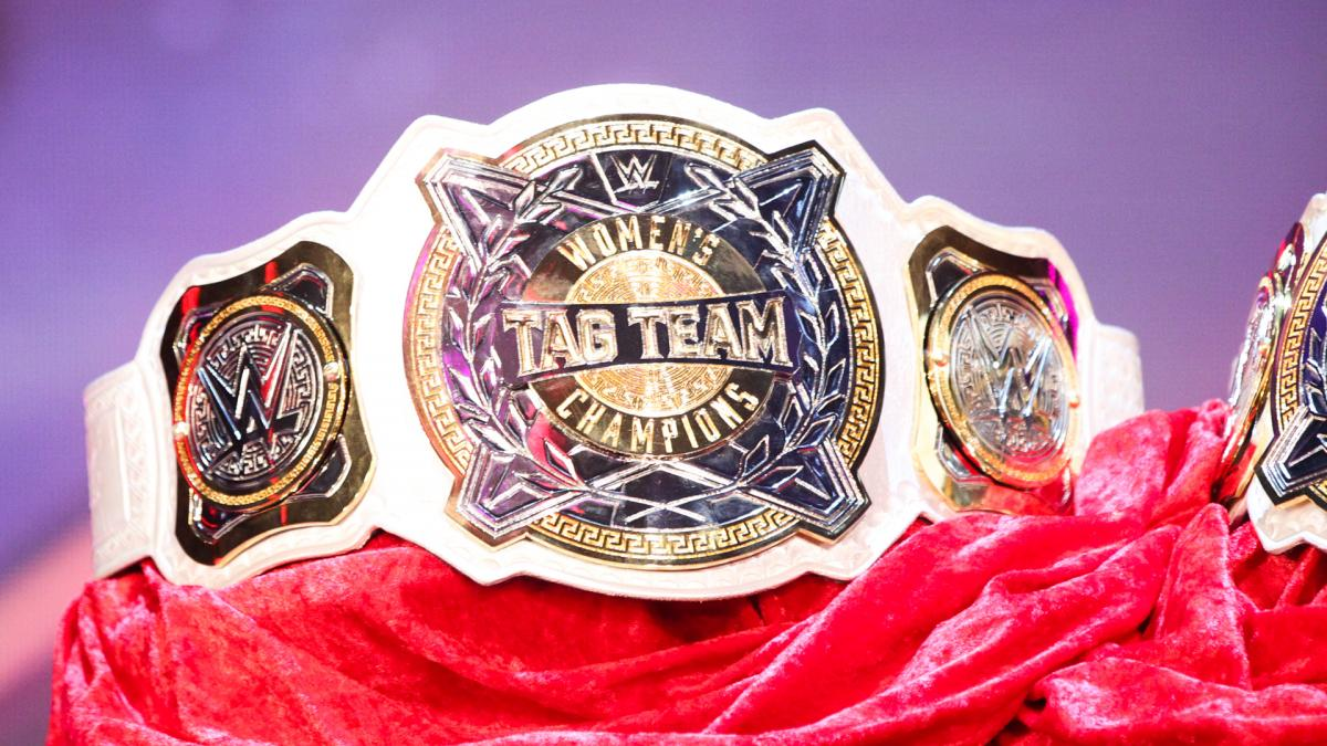 WWE Women's Tag Team Championship Belts Revealed – TPWW