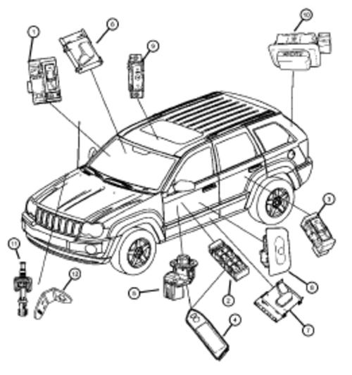 2007 Jeep Grand Cherokee Parts Diagram