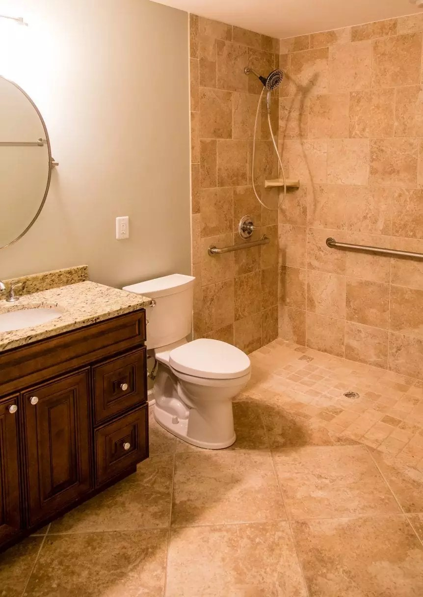 Best Kitchen Gallery: Ada Bathroom Design Remodeling In Baltimore Md Trademark of Handicapped Bathroom Designs  on rachelxblog.com