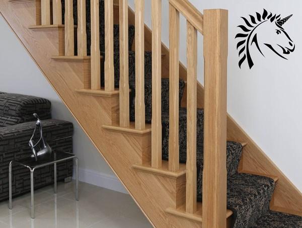 Oak Handrail Offers White Oak Select Range Stair Rails   Stair Rails And Spindles   Dark   Restaining   Modern   Spiral   Glass