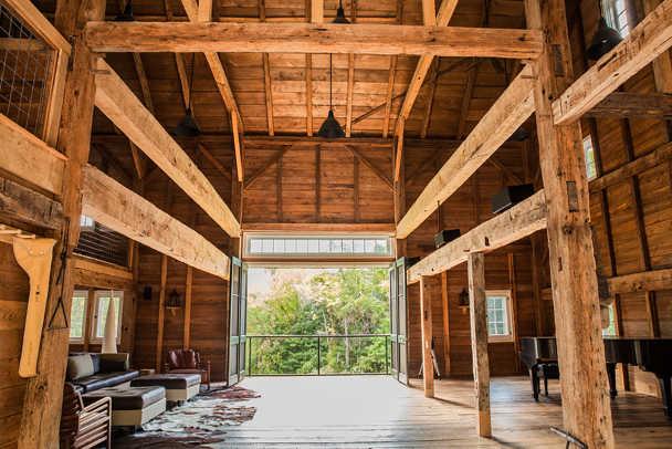 Barn House Interior