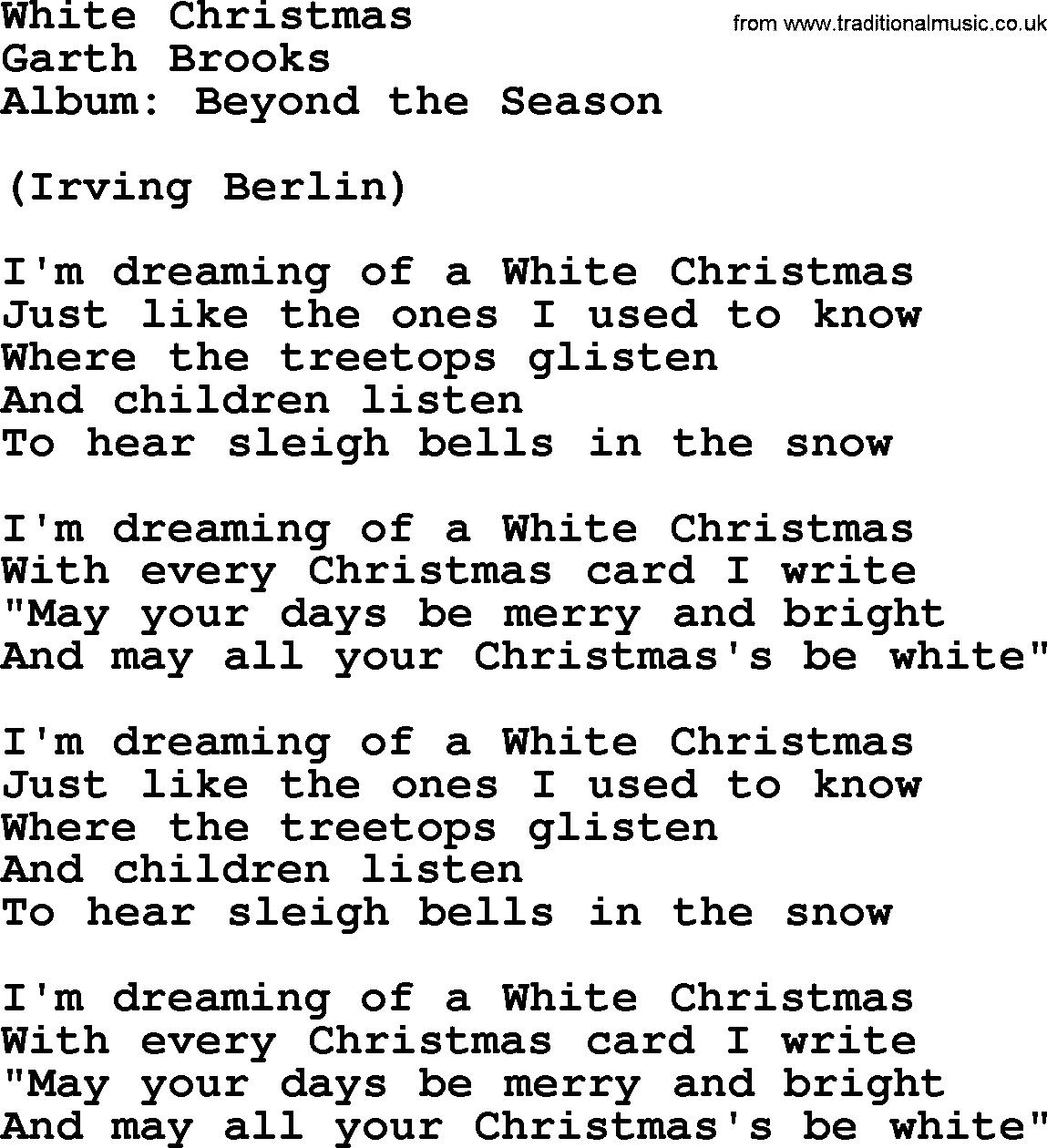 White Christmas Ukulele Chords