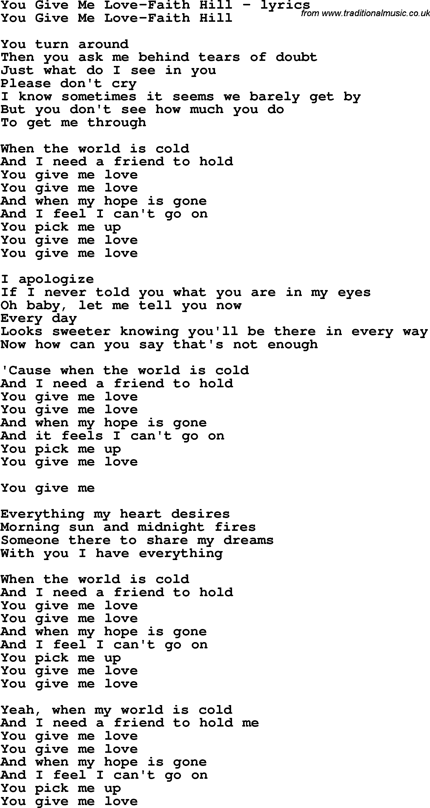 Old Fashioned Give Me Love Chords Embellishment Song Chords Images
