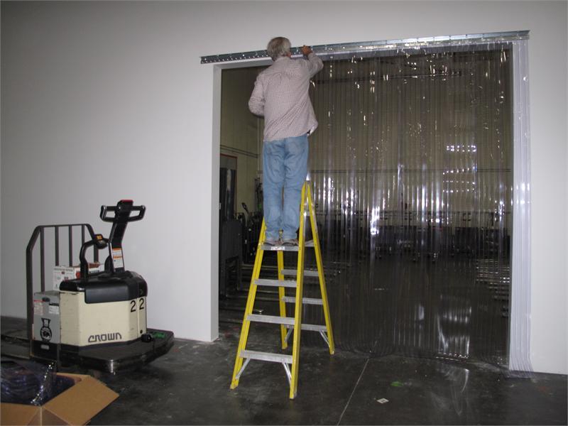 Vinyl Strip Curtain Installers Pvc Strip Door Installers