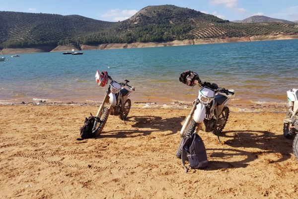 Awesome enduro motorcycle tour in Malaga, Spain