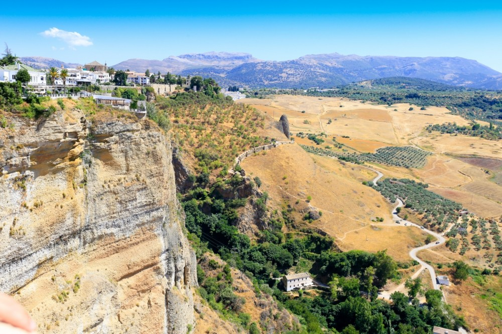 Clifftop views from Ronda