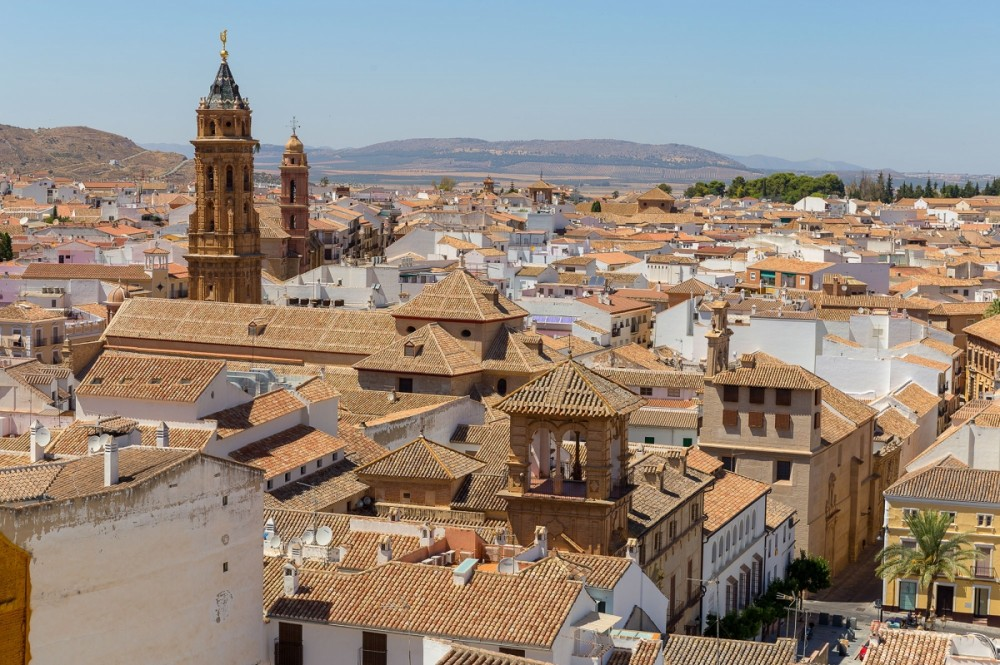 Ride MX trail bikes all day, with a lunch stop in Antequera, Spain