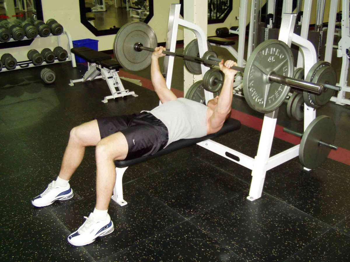 Push Ups Or Bench Press Train Body And Mind