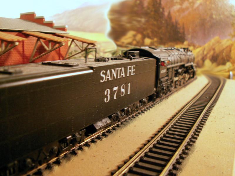 Santa Fe Steam Locomotive Roster