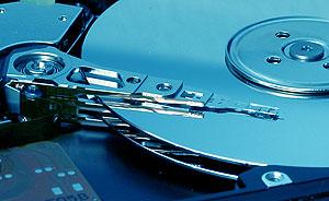 Armazenamento em discos magnéticos duros