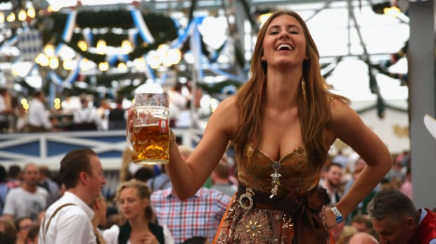 Photos  Oktoberfest 2014 kicks off in Munich with millions expected     About a million people head to Oktoberfest  the world s largest  festival  for its first