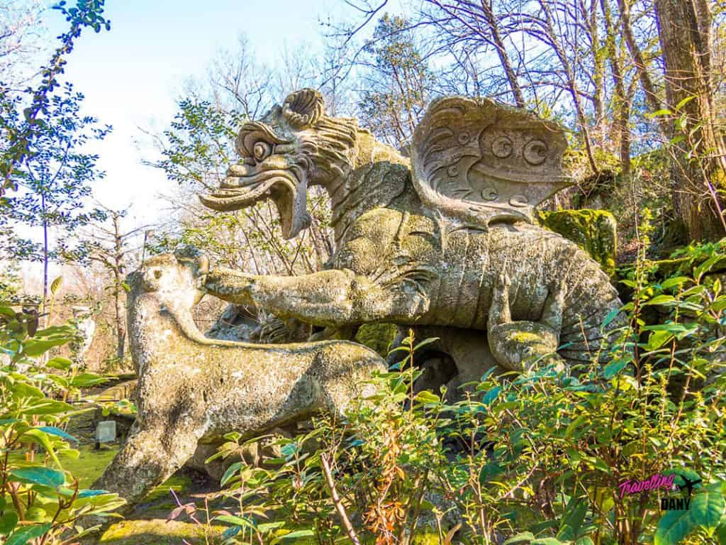 Weird And Spooky Landmarks In Italy Bomarzo Monster