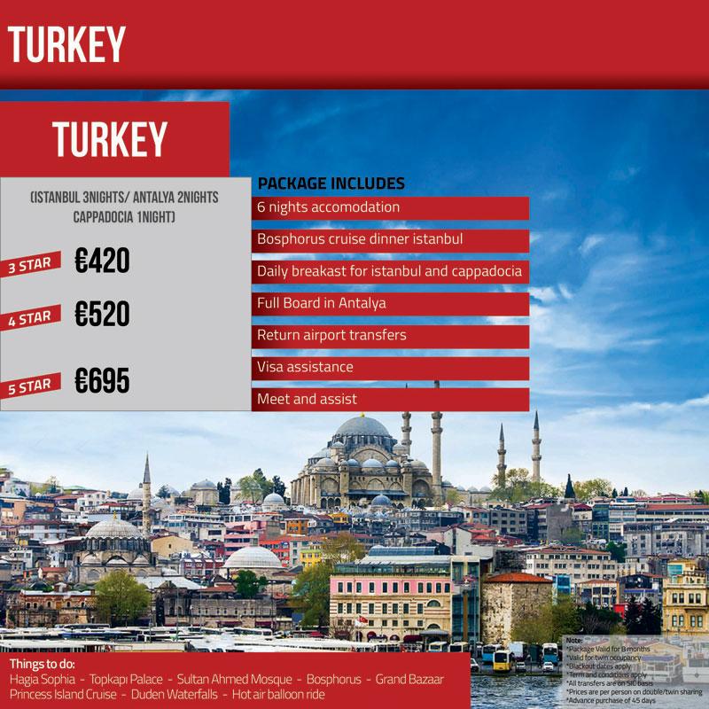 Europe Honeymoon Packages Pakistan