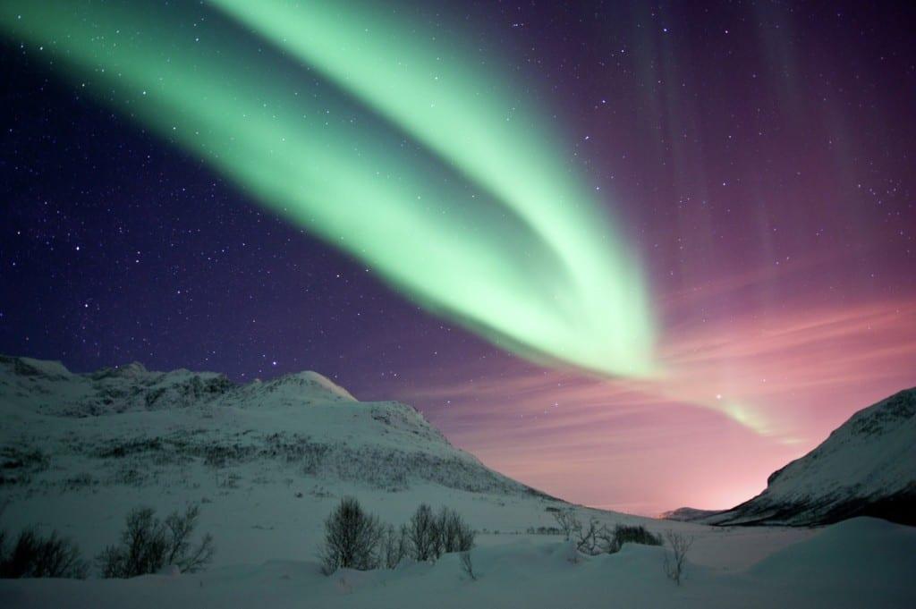 Kvaloya Northern Lights