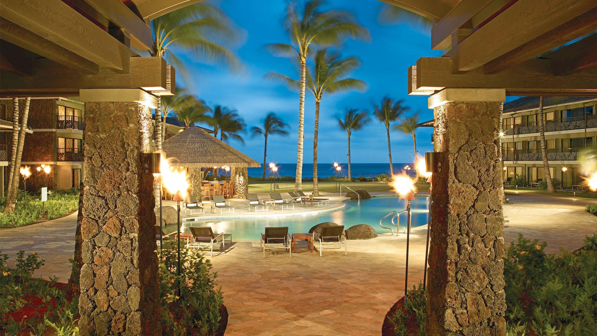 best kitchen gallery conde nast traveler honors kauais koa kea hotel travel weekly of kauai