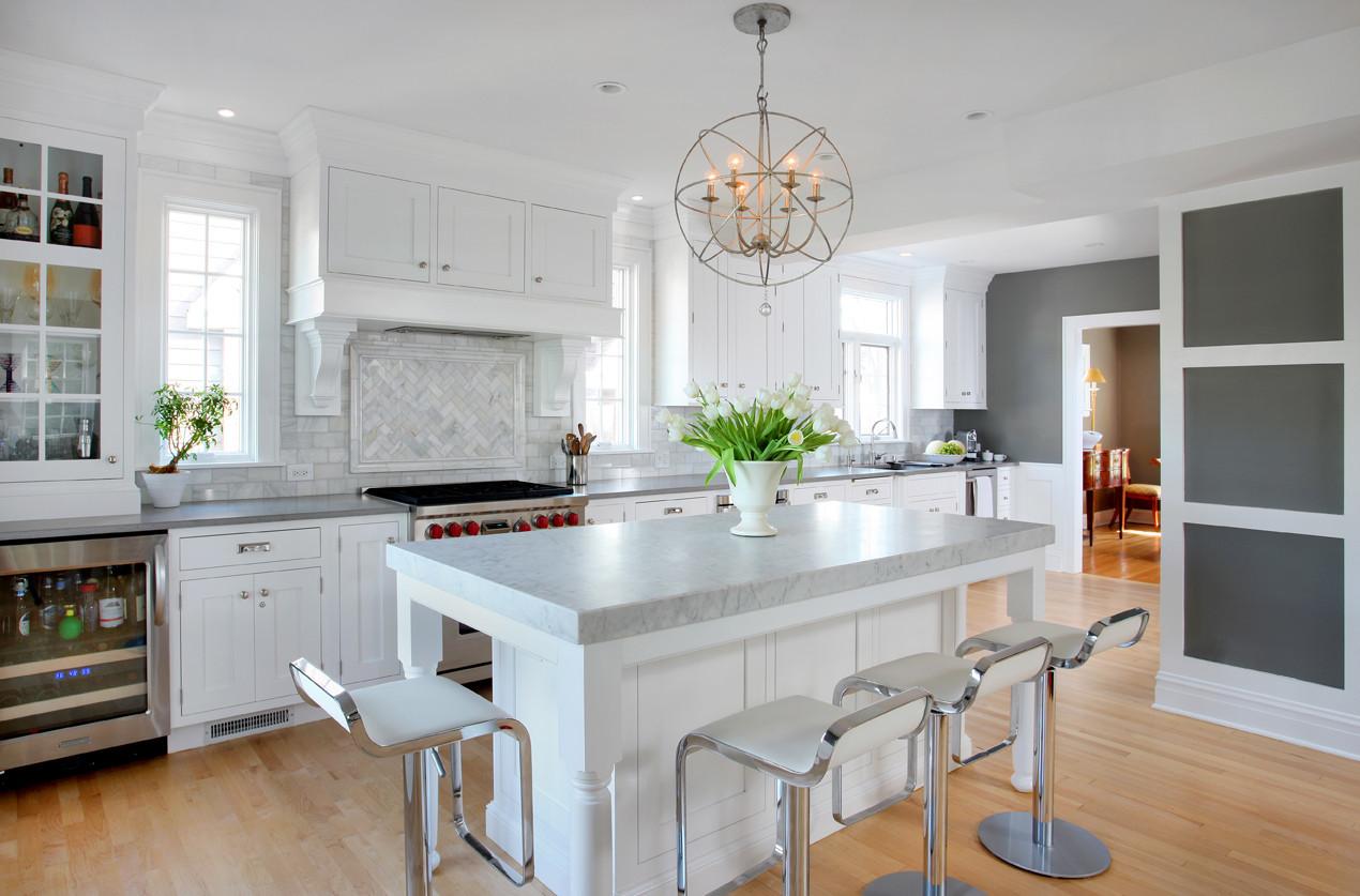 Best Kitchen Gallery: Kitchens Designs 2014 Kitchens Designs 2014 C Fizzyinc Co of White Transitional Kitchen Design on rachelxblog.com