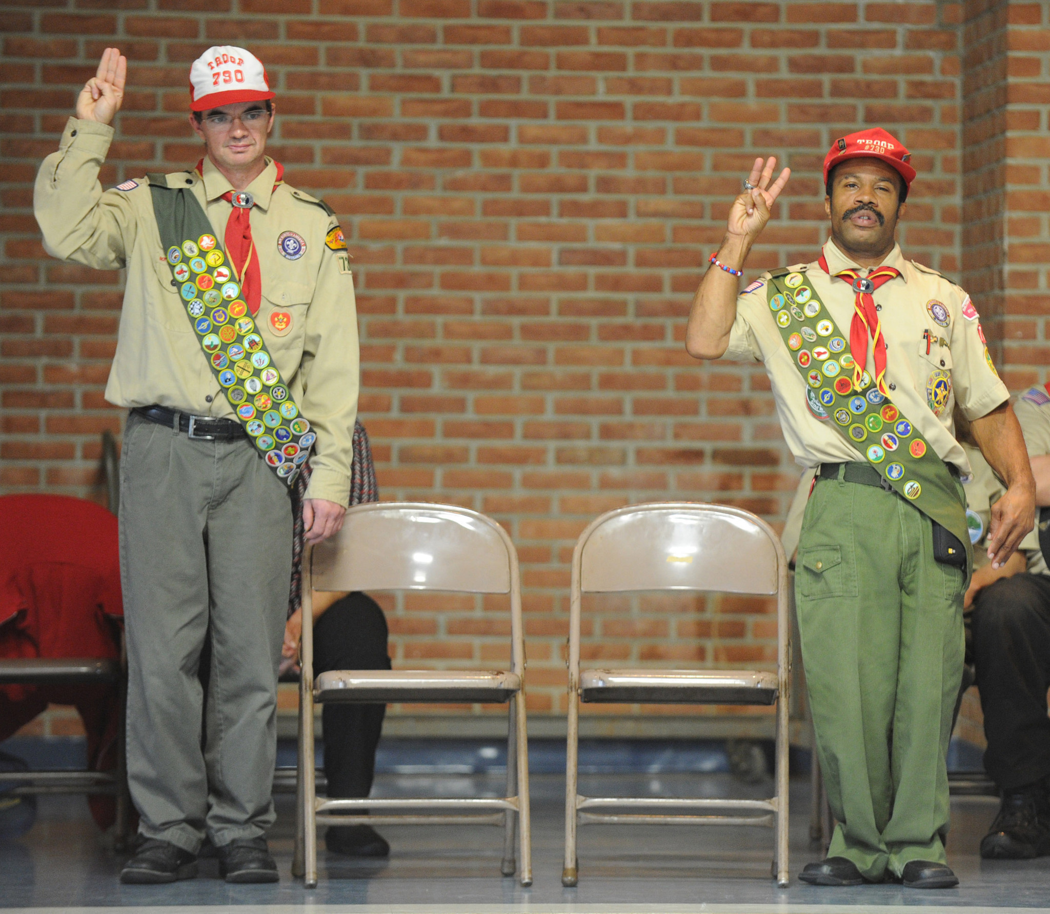 Two Developmentally Disabled Men Receive Their Eagle Scout