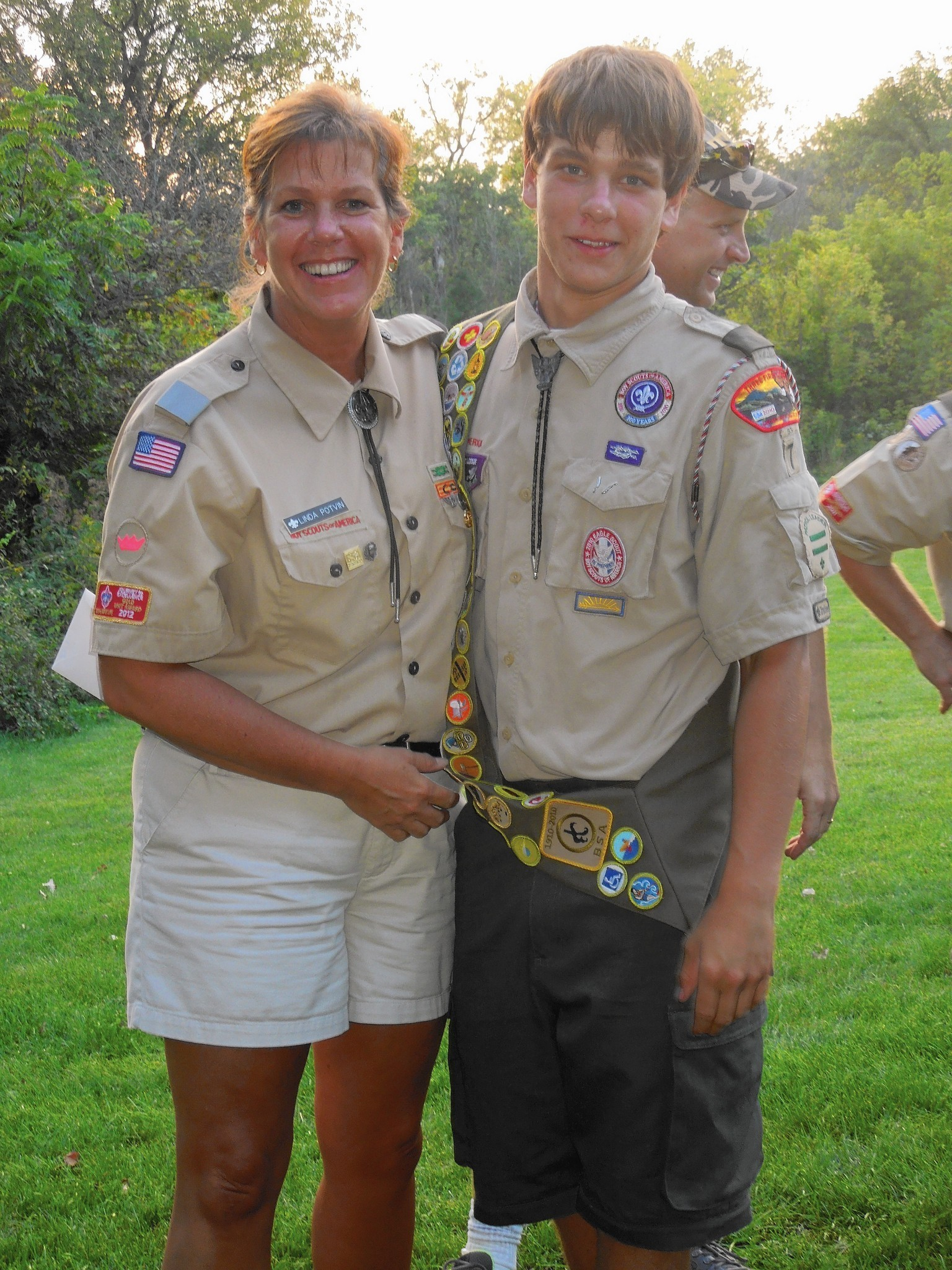Boy Scout Adult Volunteers Are Honored With Silver Beaver