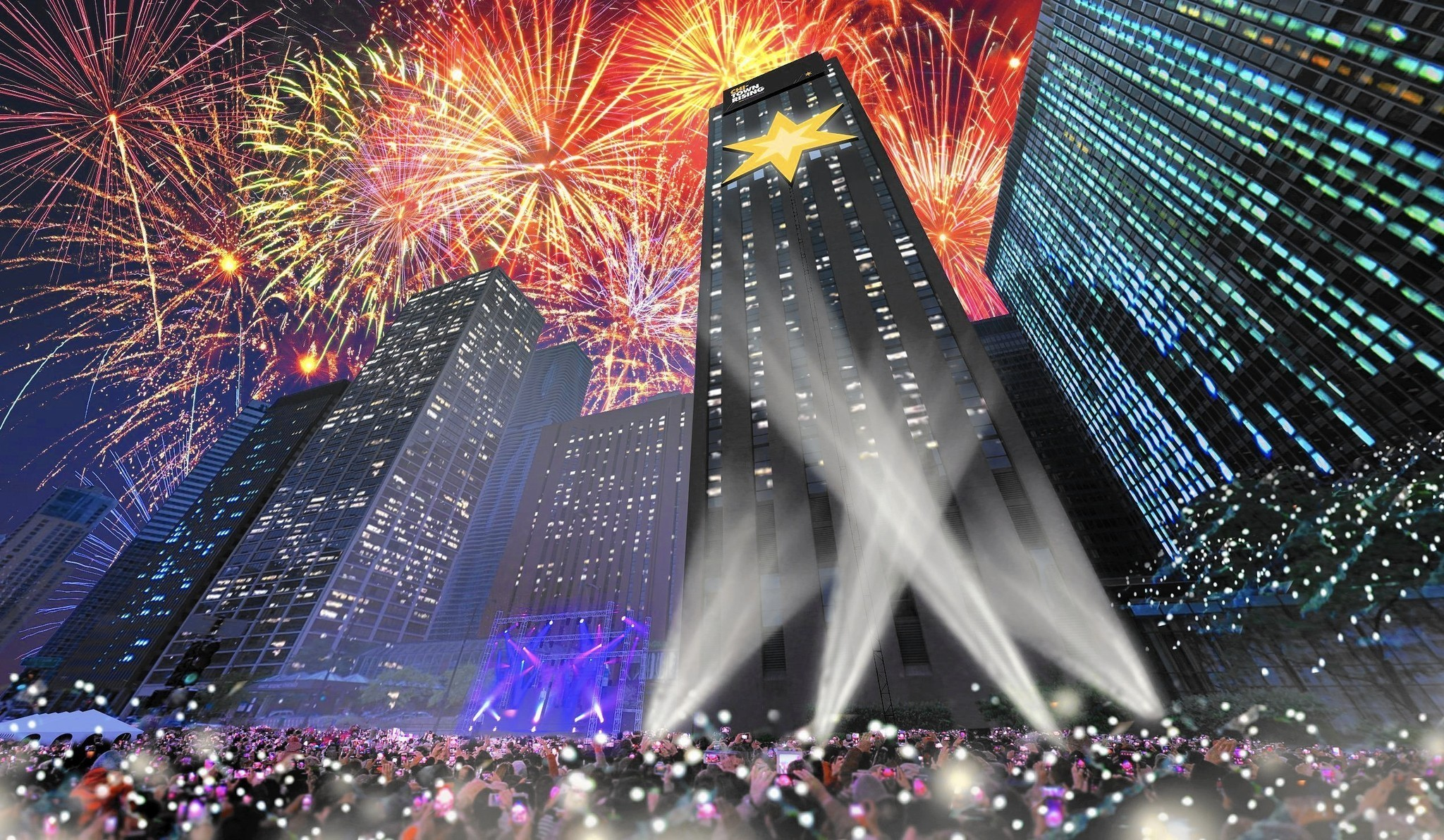 Chicago launching major New Year s Eve celebration   Chicago Tribune