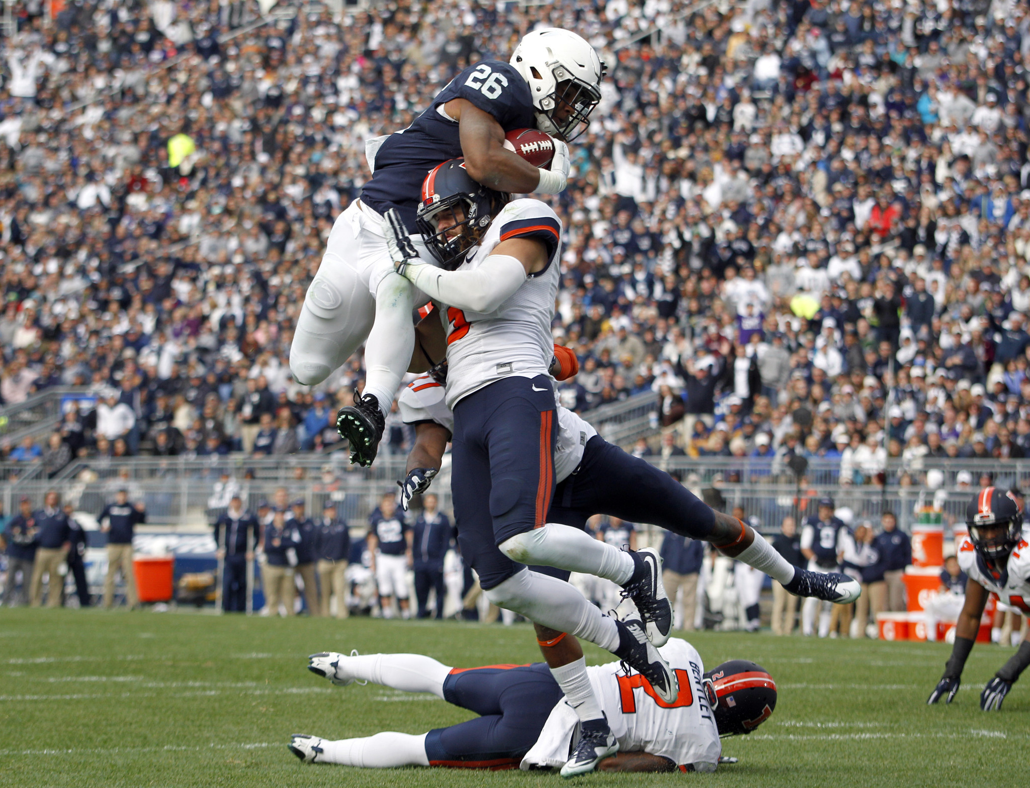Saquon Barkley Setting More Records At Penn State The