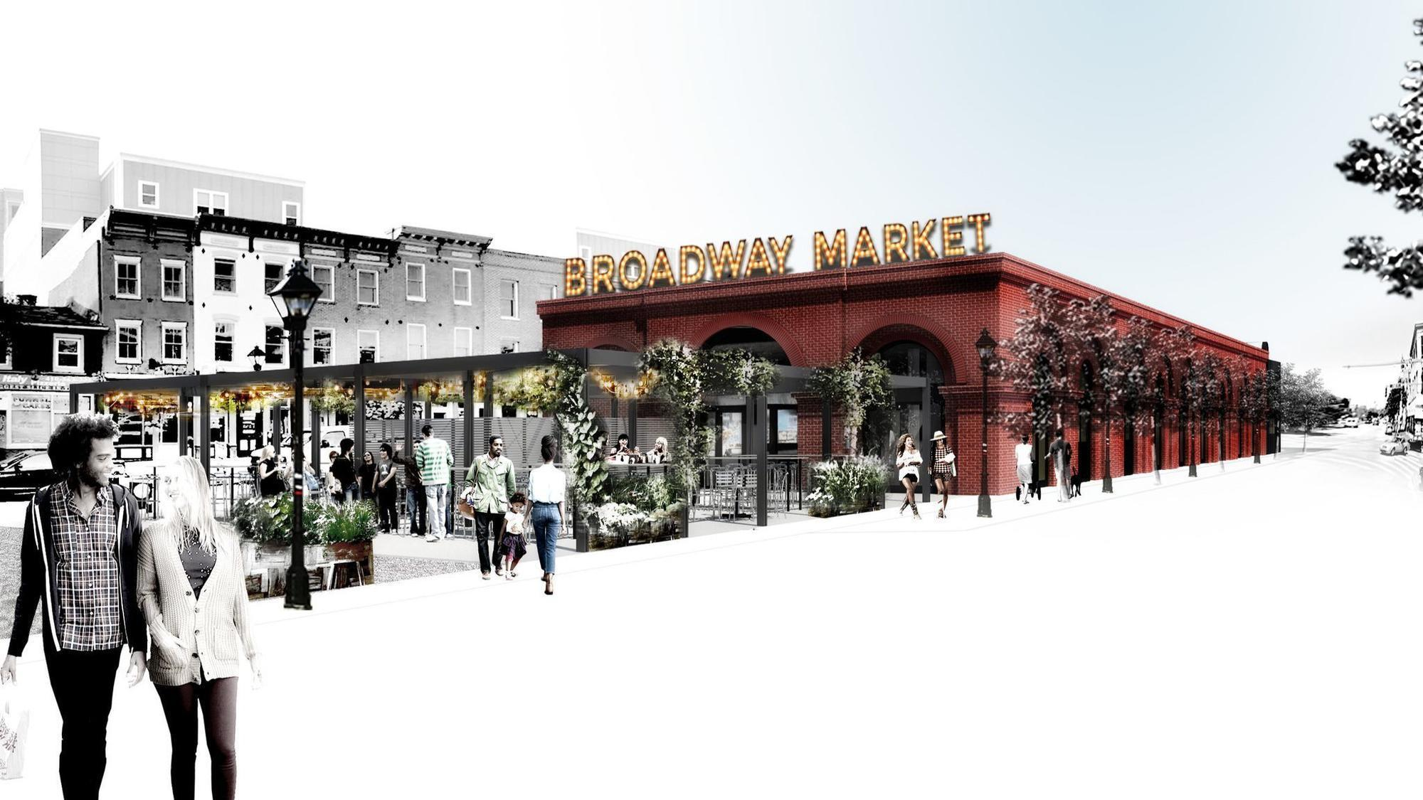 Broadway Market Upgrades Move Toward Construction With New