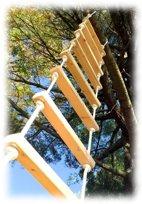 Rope Ladders 8 Foot Rope Ladder From Treehouse Supplies