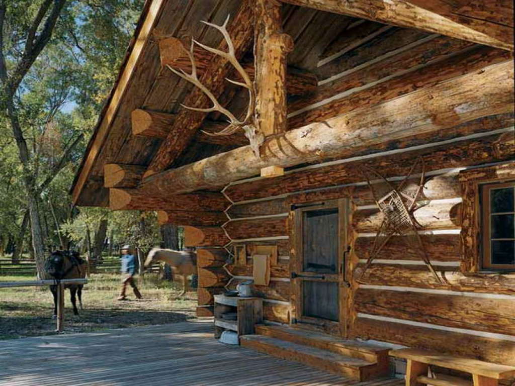 Log Cabins Build Yourself