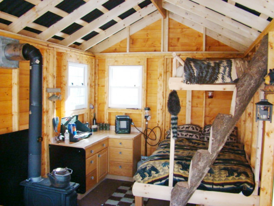 Small Cabins Tiny Houses Interiors Interior Portable