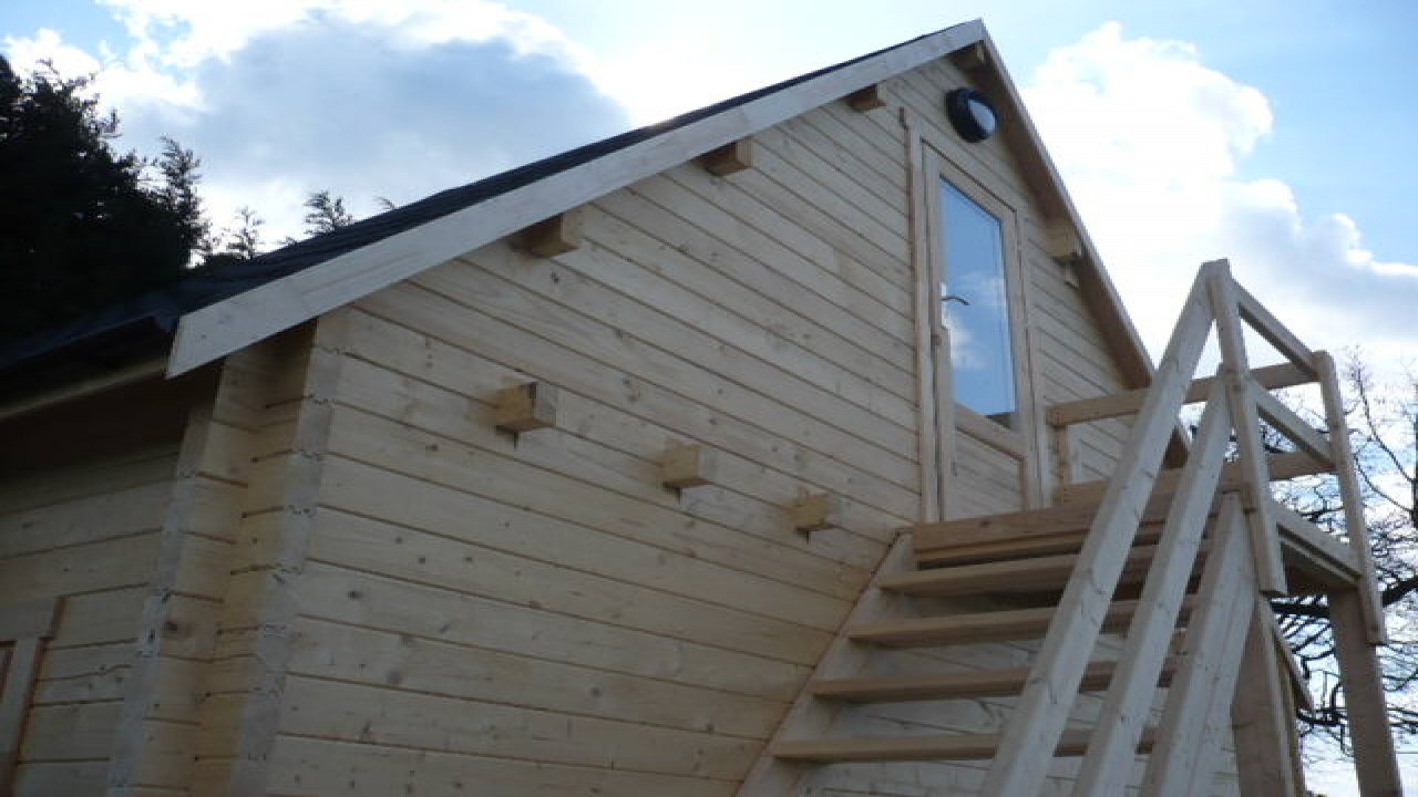 Using Landscape Timbers For Log Cabin Log Cabins And