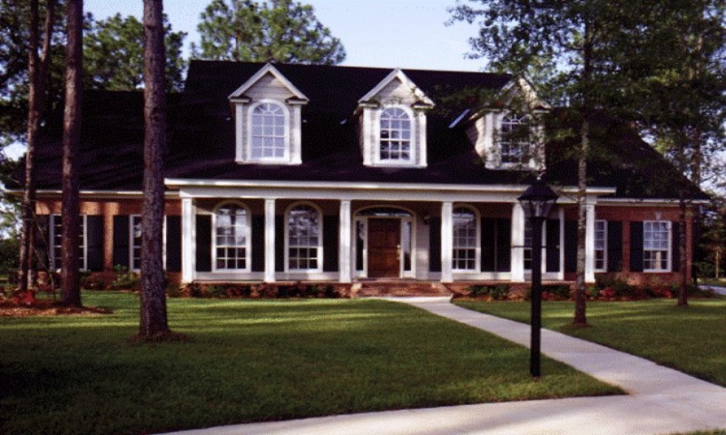 Southern Country Style Brick Homes
